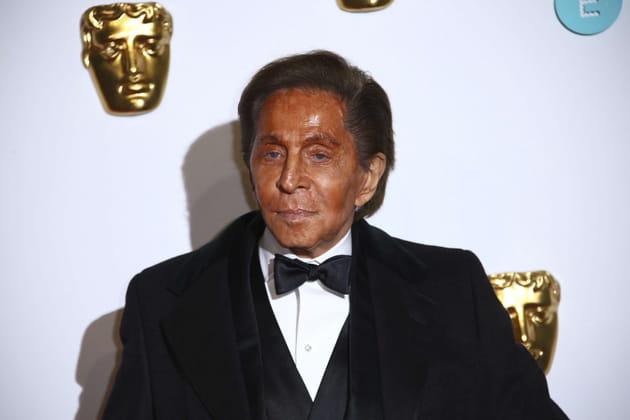 Valentino Garavani à la 62e édition des BAFTA