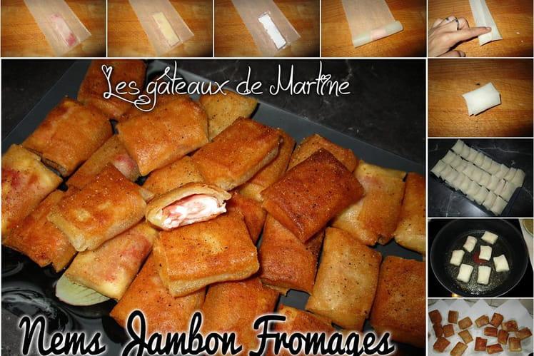 Nems Jambon-Fromages