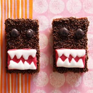 brownies domo kun, le monstre gentil