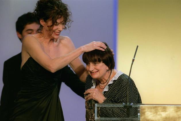Jane Birkin et Agnès Varda aux Césars, 2001