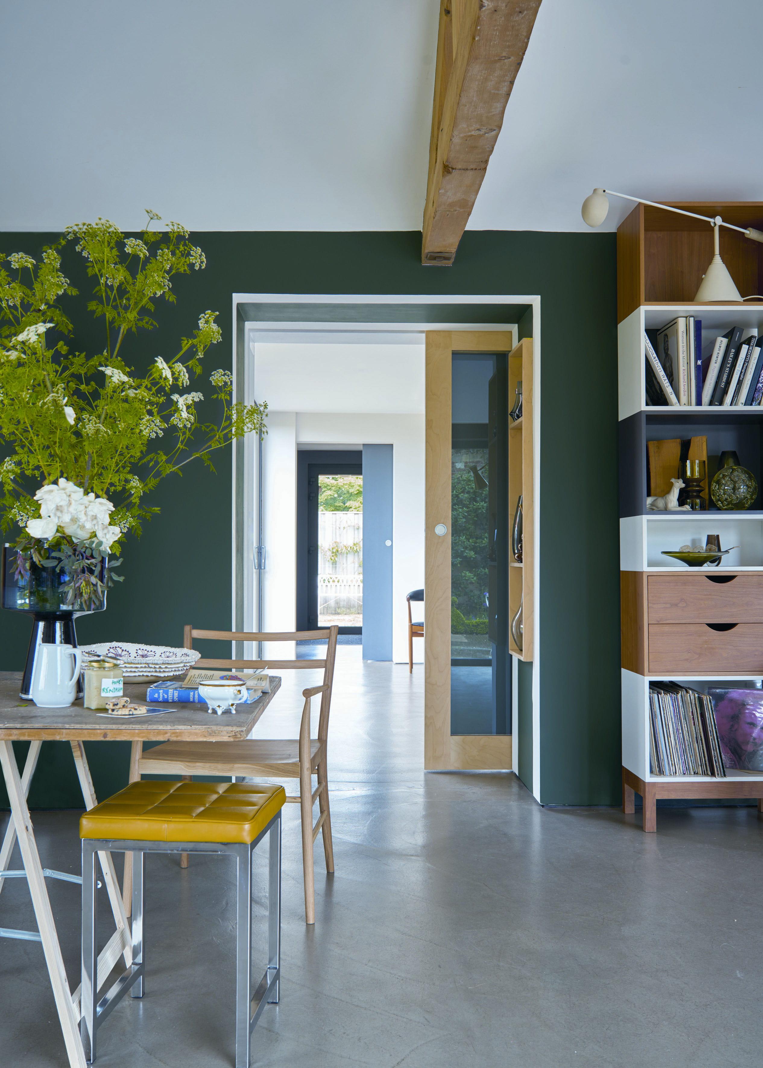 Les Erreurs à éviter Avec Le Vert Foncé - Canapé 3 places pour decoration interieur cuisine