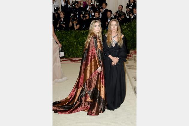 Mary-Kate et Ashley Olsen en Paco Rabanne