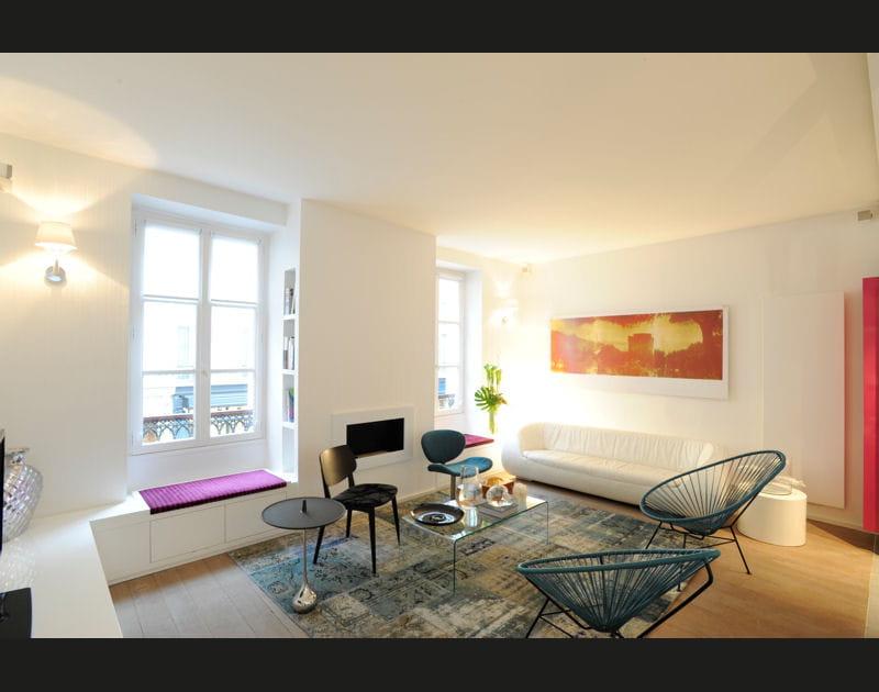 Un appartement à la déco douce etintemporelle