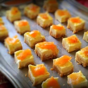 cheesecake au saumon et chèvre frais