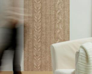 du coton sur les murs. Black Bedroom Furniture Sets. Home Design Ideas