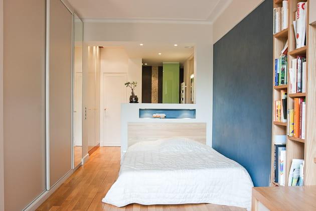 Petit loft zen : enfilade