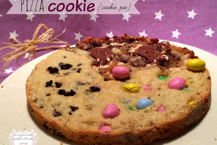 Pizza Cookie (cookie pie)