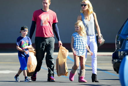 Gwyneth Paltrow et Chris Martin : shopping en famille