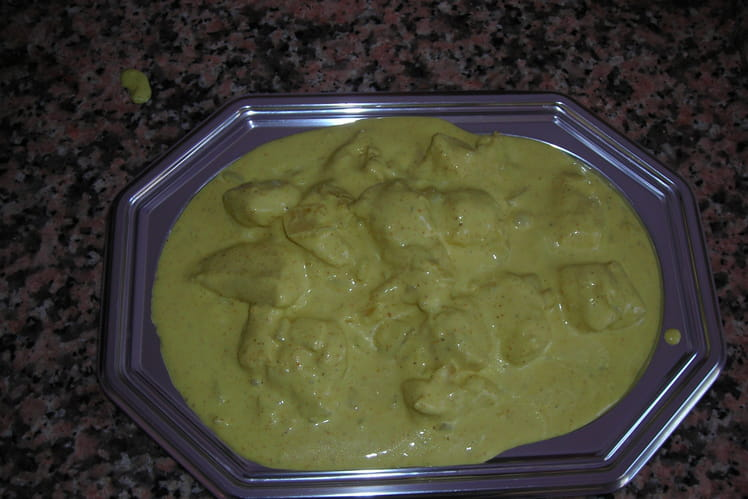Poulet au curry inratable