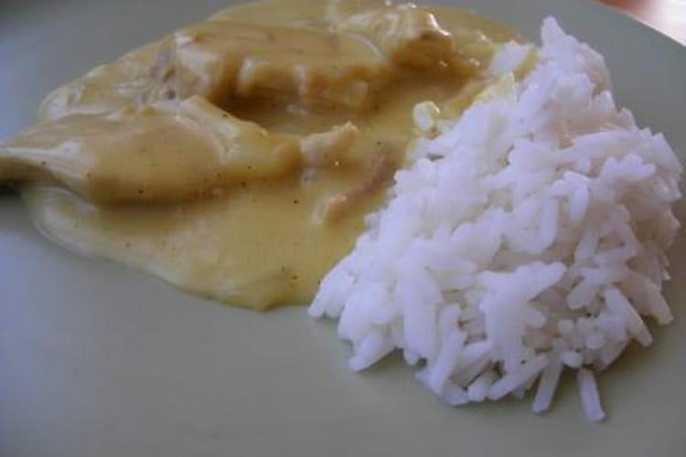 Poulet au curry classique