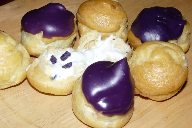 Choux vanille violette