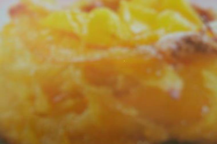 Tortilla aérienne à la mangue