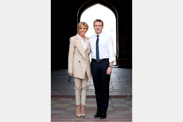 Brigitte Macron le 11mars 2018