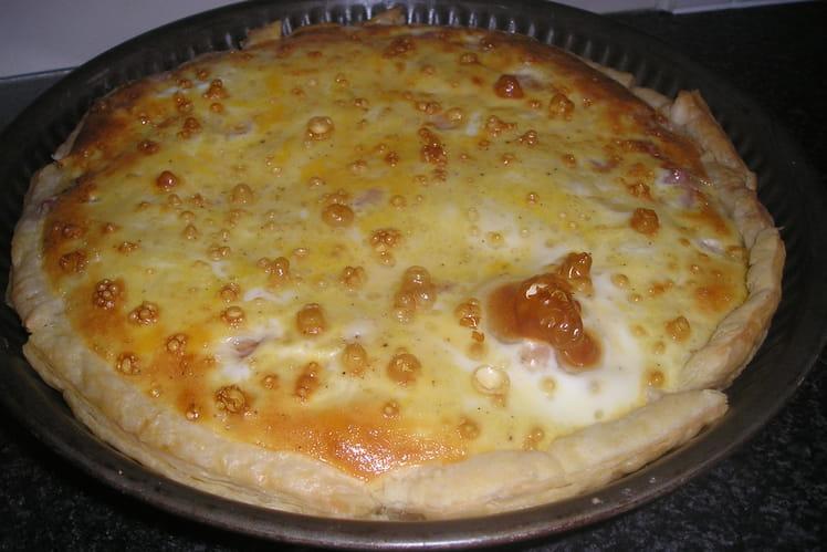 Tarte fondante aux 3 fromages