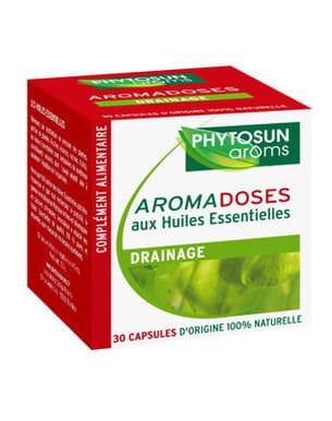aromadoses drainage de phytosun arôms