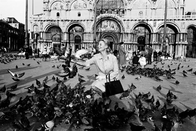 A Venise, en 1961