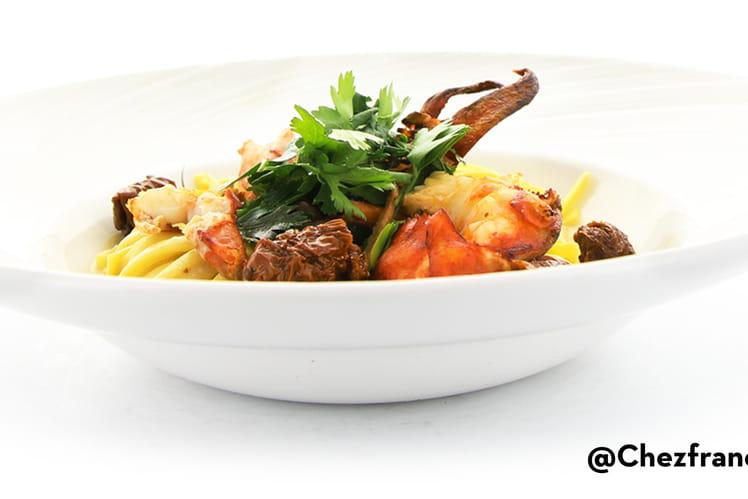 Demi-Homard, Taglioni au Mascarpone, Tartufata, Tomate Séchée