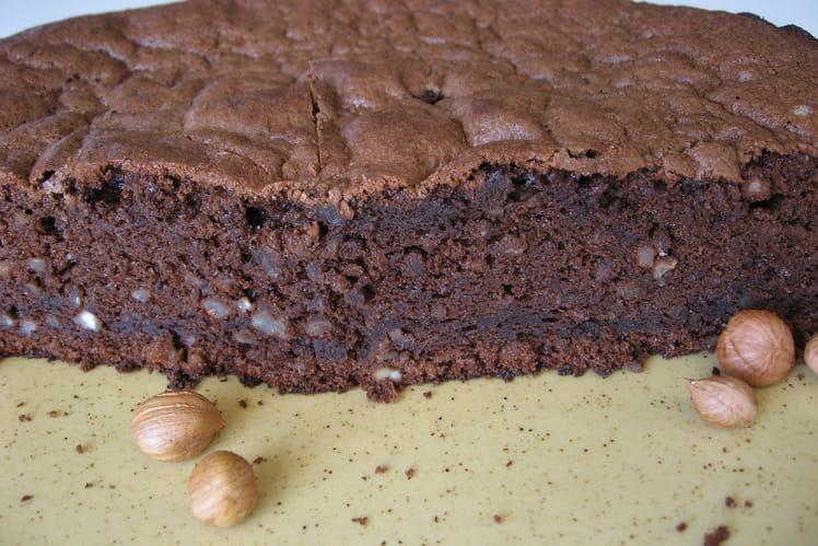 Gâteau choconoisettes