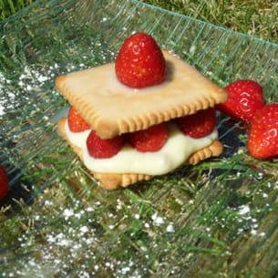 fraisier aux ptits lu