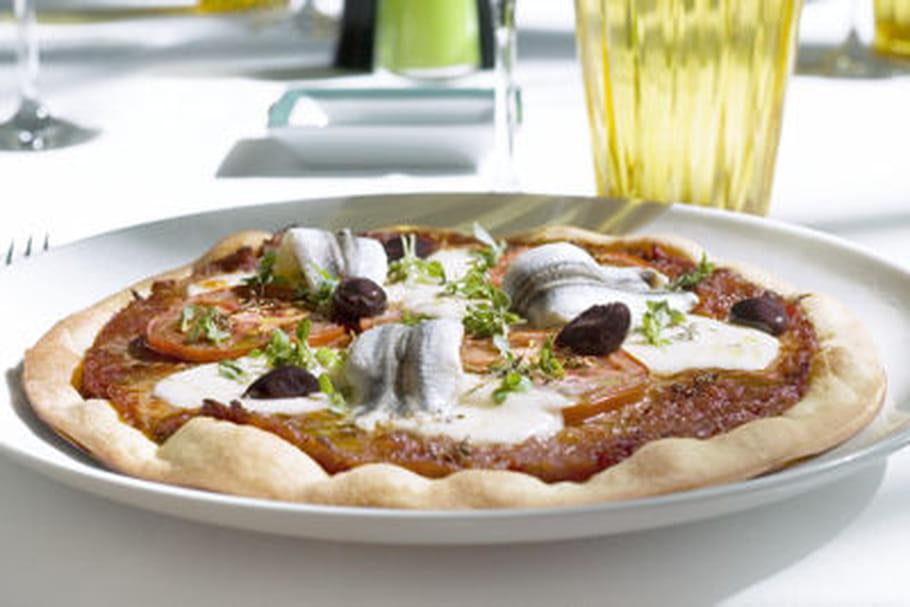 Boîte à Pizza pissaladière Philippe Labbé