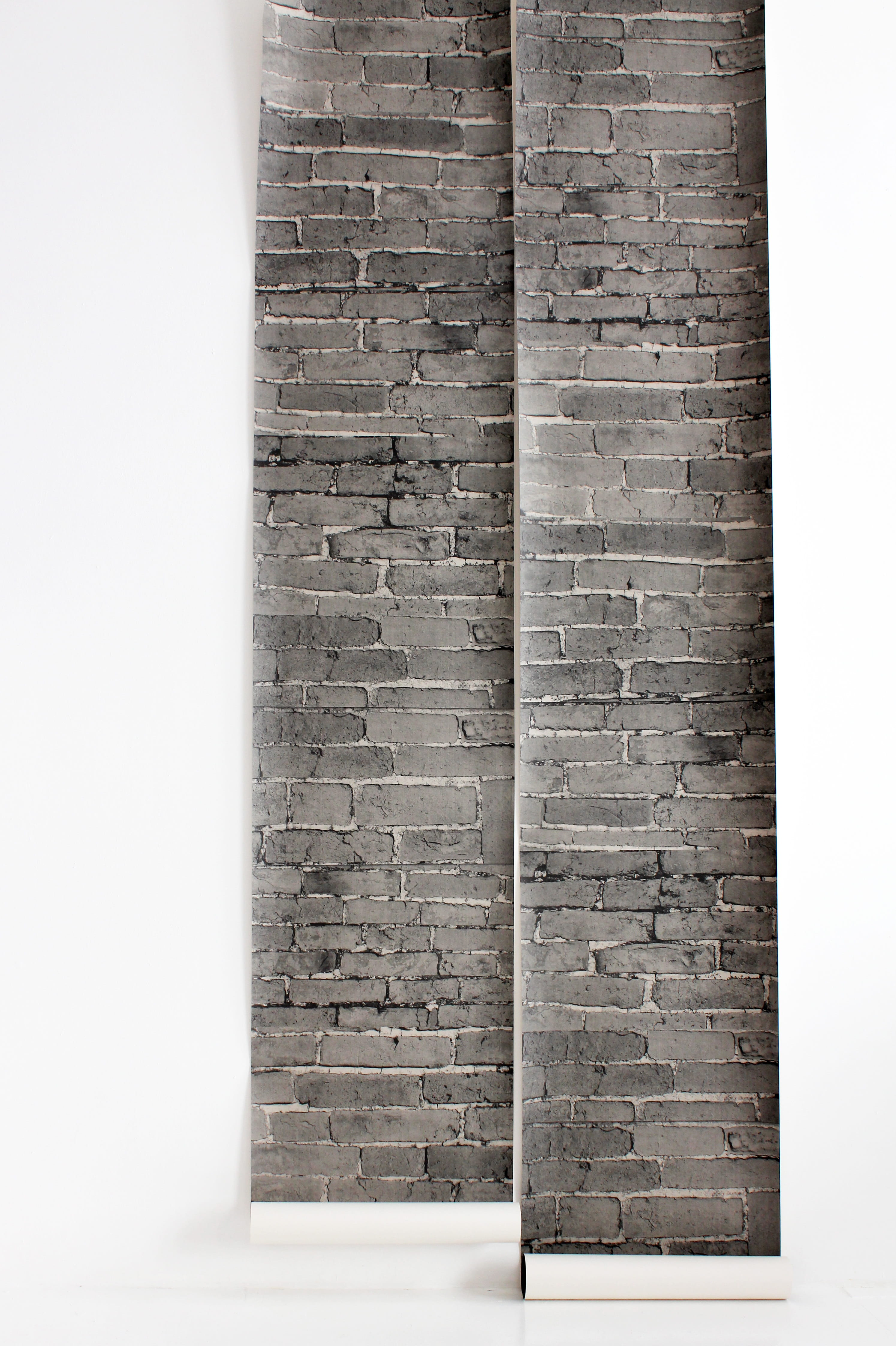Papier peint trompe l\'oeil Brick wall de The Collection