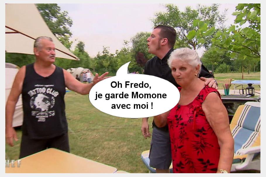 Norbert à Fredo : Je garde Momone avec moi !