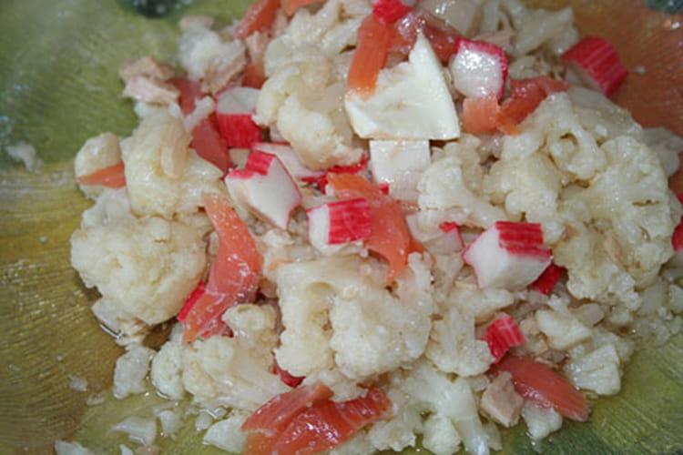 Salade fraîche de chou-fleur