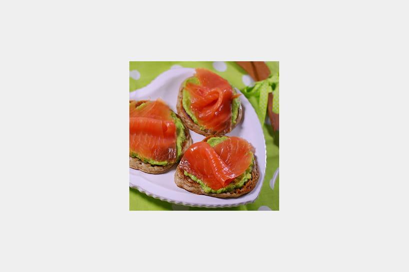 Recettes au saumon fumé pour Noël