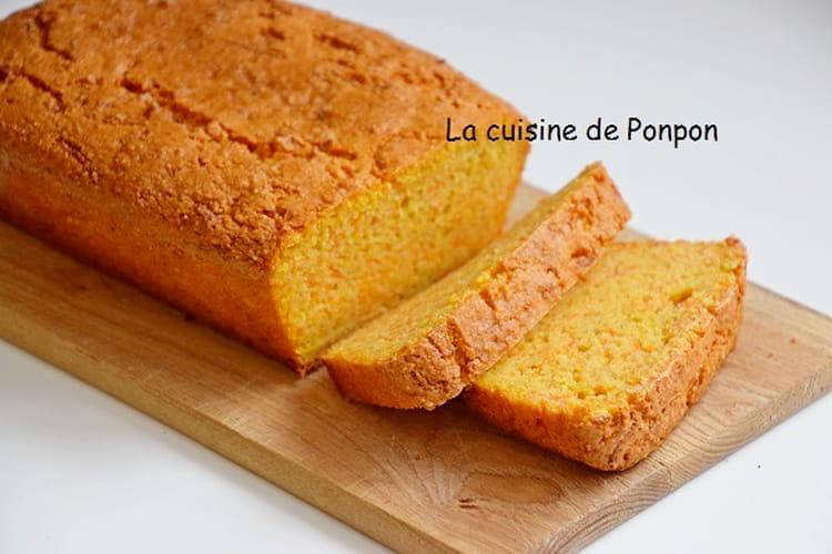 Gâteau aux carottes de Pierre Hermé, sans beurre