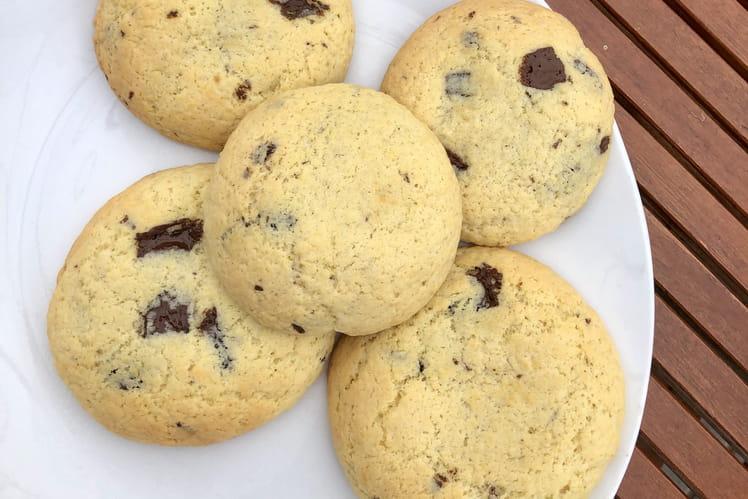 Cookies géants coeur speculoos
