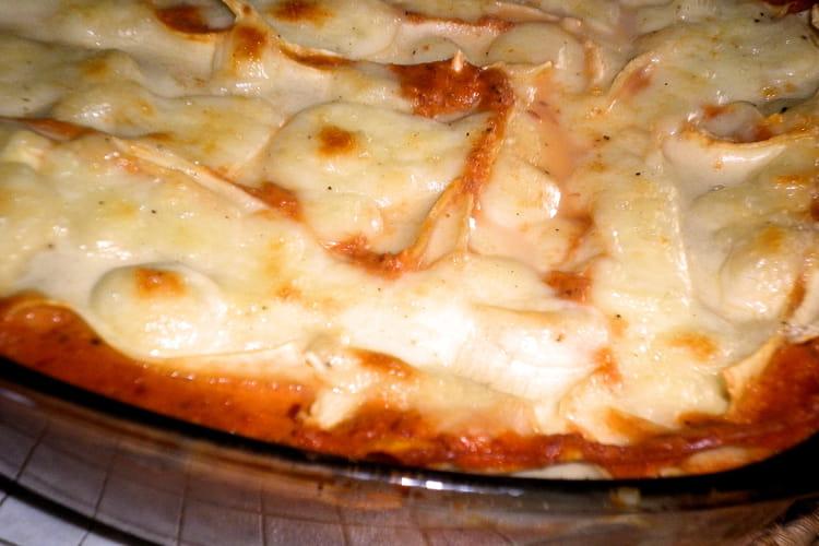 Lasagnes Ti Amo (coppa, chèvre, tomates, poivron, basilic)