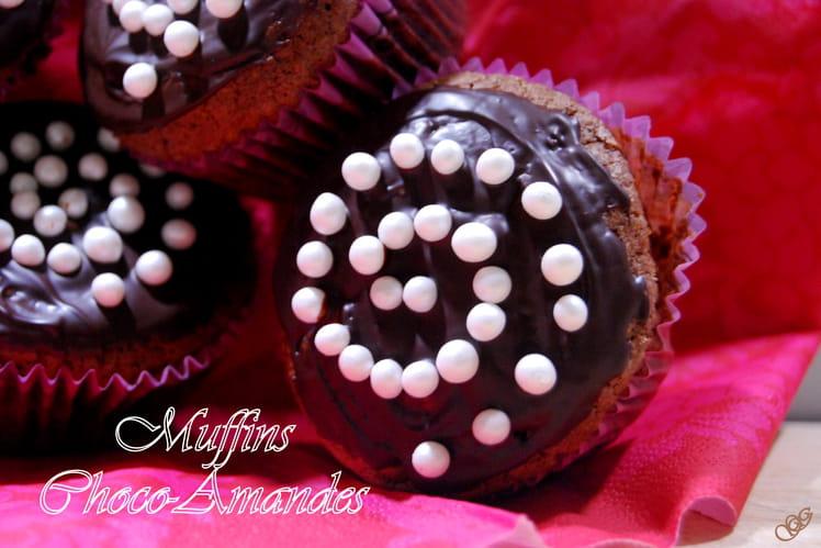Muffins Chocolat Amandes