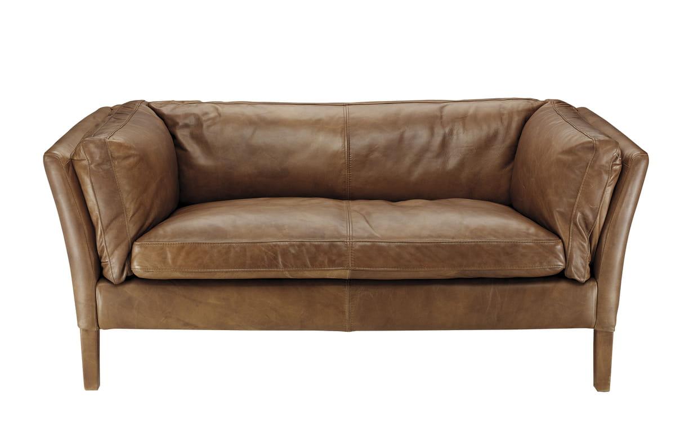 Canap en cuir lauren de now 39 s home for Canape home salon
