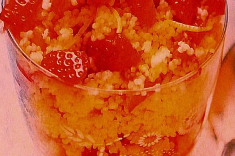 Taboulé à la fraise