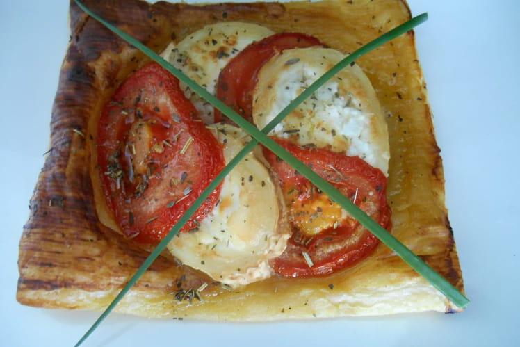 Tartelettes tomates et chèvre