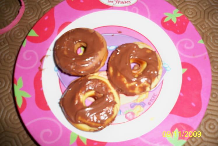 Mini donuts au Nutella