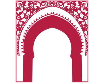 adhésif 'porte orientale' de chez idzif