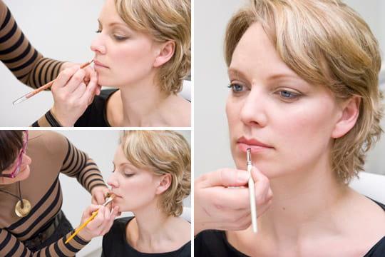 Le maquillage de la bouche