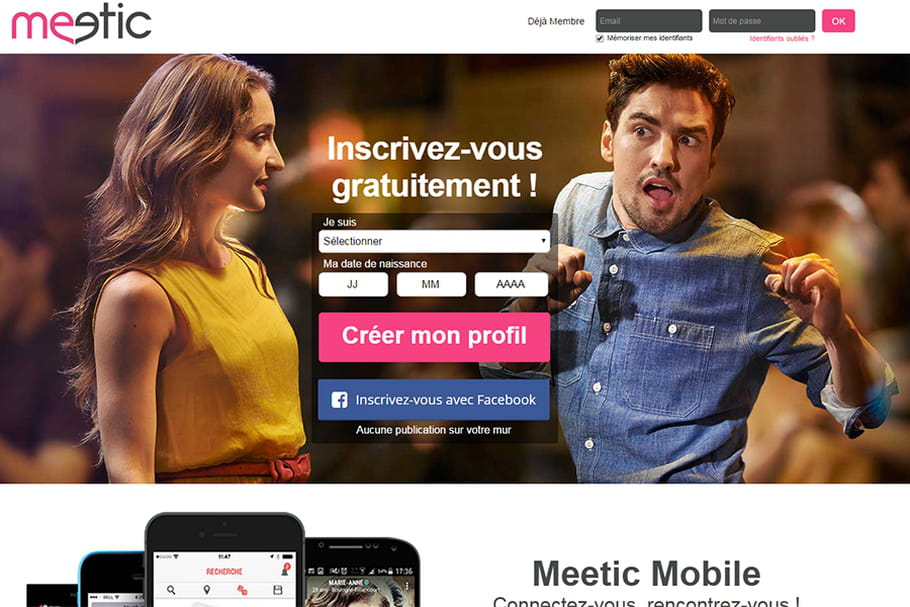 Site de rencontres : le point sur Meetic