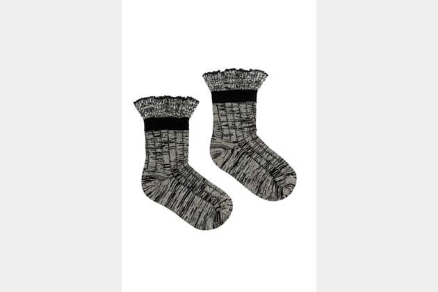 Soquettes en tweed d'Alexander McQueen