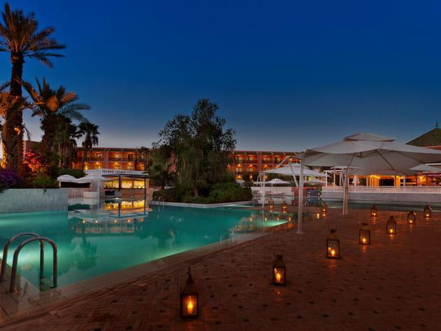 Palmeraie Palace : la piscine
