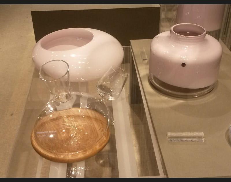 Vase et décanteur de vin de Nude