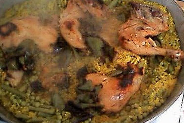 Paella gourmande