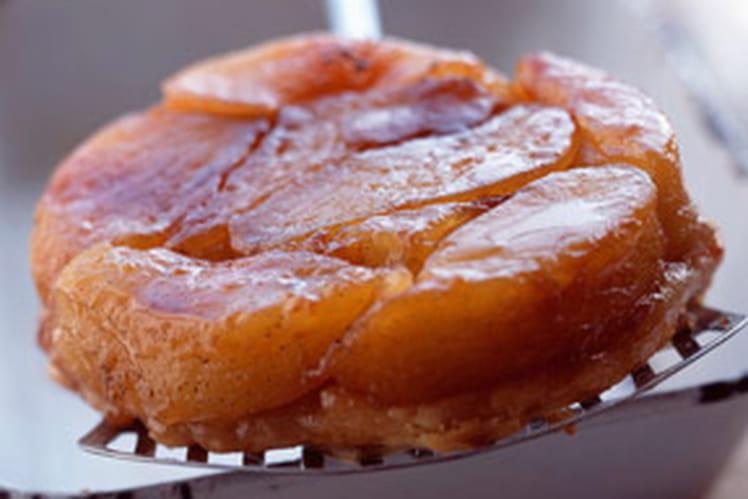 recette pour une tarte tatin