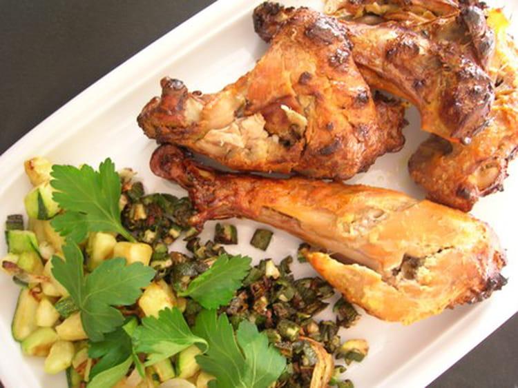 recette de poulet tandoori traditionnel la recette facile. Black Bedroom Furniture Sets. Home Design Ideas