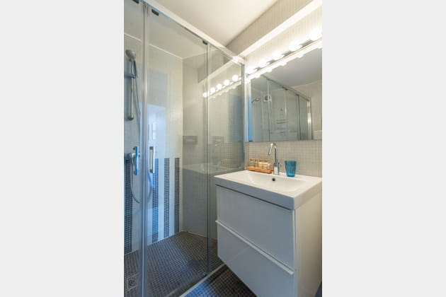 Salle de bains astucieuse