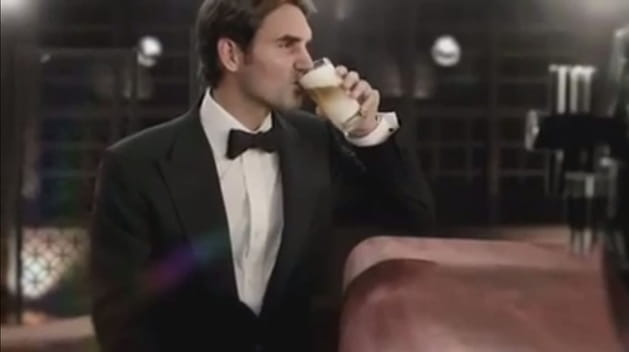 Roger Federer, son match pour Jura