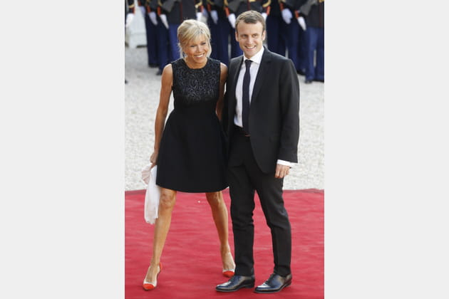 Brigitte Macron le 3juin 2015