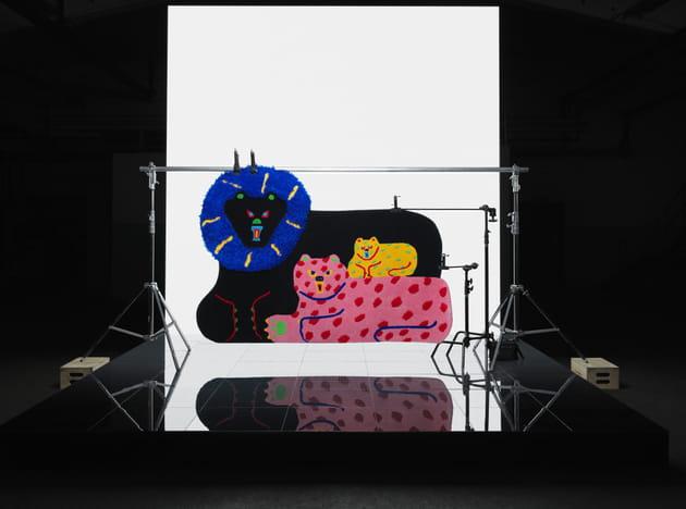 tapis misaki kawai pour ikea art event 2019. Black Bedroom Furniture Sets. Home Design Ideas