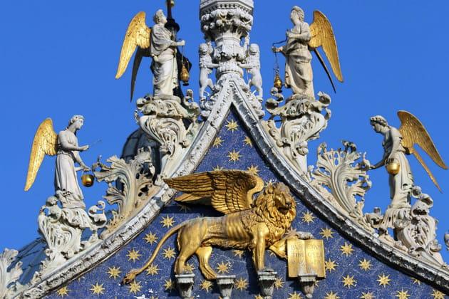Le Lion de Saint-Marc à Venise